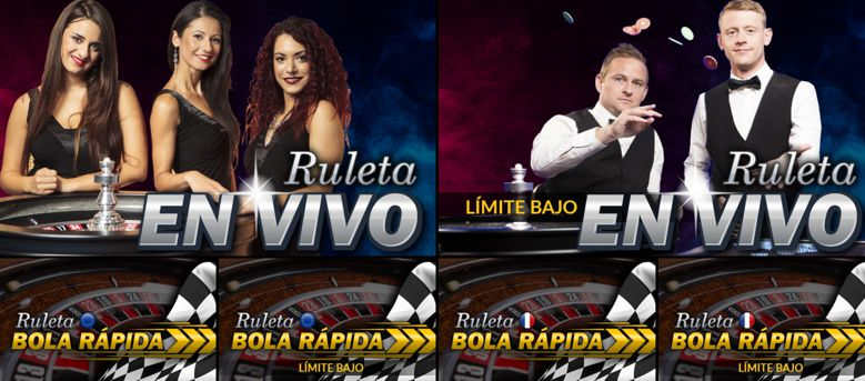 Juegos disponibles en Casino Barcelona