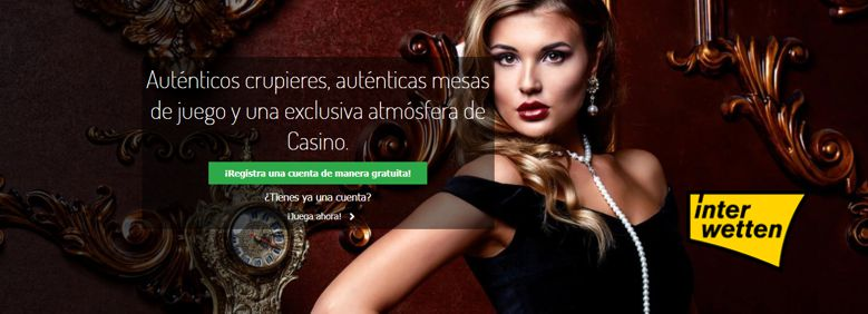 Interwetten Casino en vivo