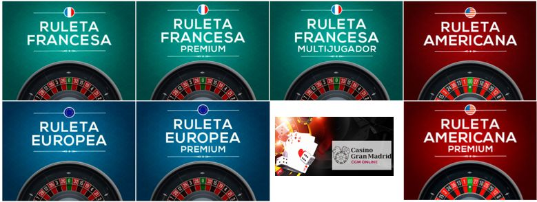 Ruleta en Gran Casino Madrid