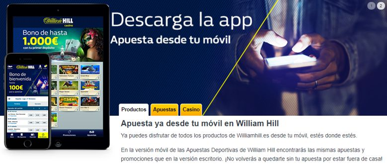 Registro en William Hill